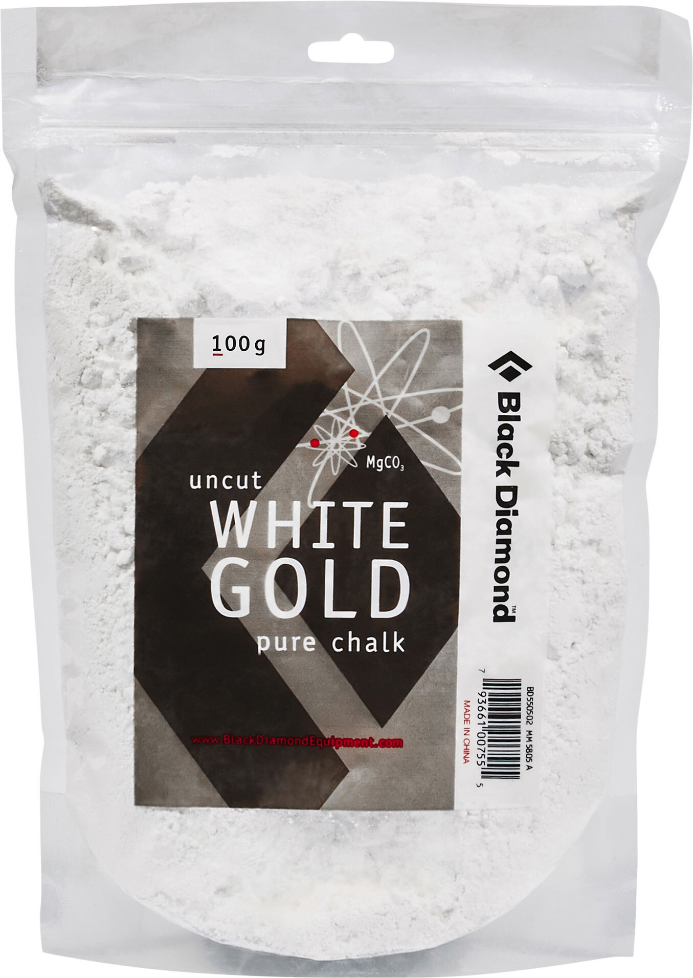 Black Diamond Solid White Gold Loose Chalk 100g At